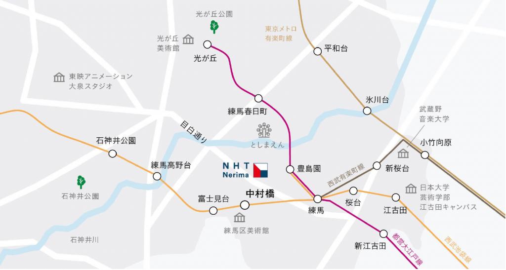 nerima area map